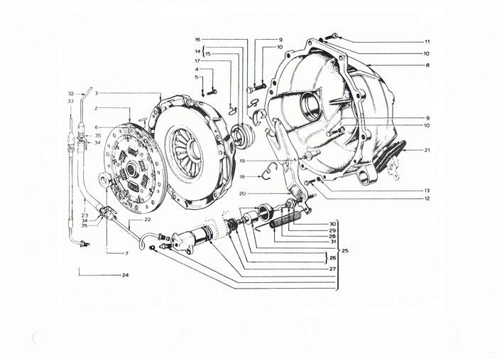 Elan  2 Clutch Parts