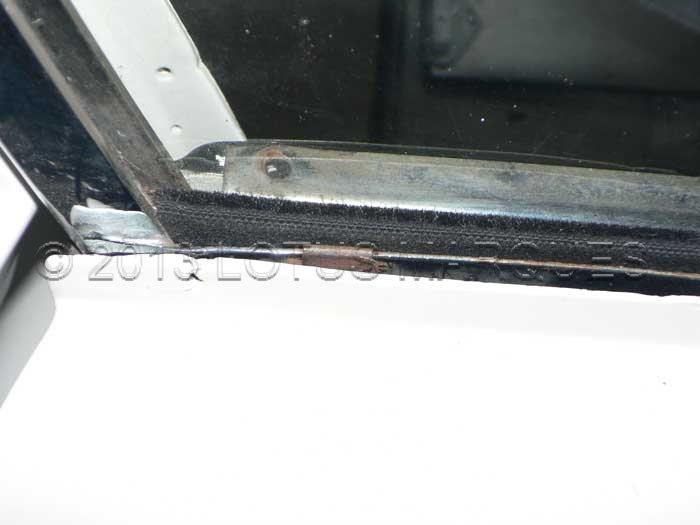 Lotus Elan +2 door window weather seal