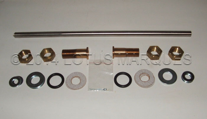 Lotus Europa door hinge kit