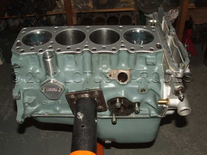Lotus Cortina twin cam engine rebuild