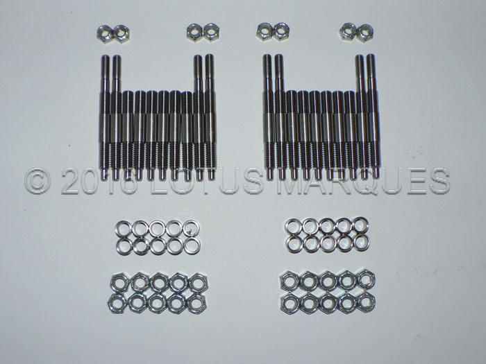 Lotus twin cam stud kit for camshaft caps