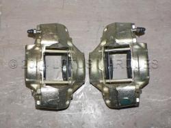 Lotus Elan +2 front brake calipers, rear view