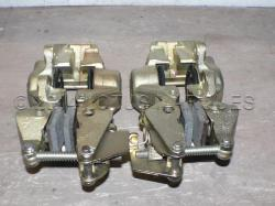 Lotus Elan +2 rear brake caliper, front view