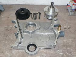 Removable water pump manufactured by Lotus Marques, rear view