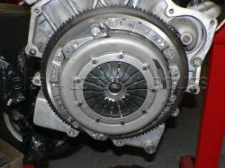 Special twin diaphragm clutch
