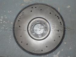 Flywheel with multiple fixing holes