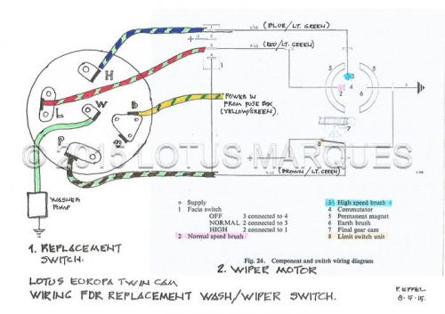 Lotus Europa TC wash/wiper switch wiring diagram on friendship bracelet diagrams, internet of things diagrams, switch diagrams, gmc fuse box diagrams, electrical diagrams, pinout diagrams, series and parallel circuits diagrams, snatch block diagrams, troubleshooting diagrams, honda motorcycle repair diagrams, led circuit diagrams, lighting diagrams, battery diagrams, engine diagrams, sincgars radio configurations diagrams, smart car diagrams, motor diagrams, transformer diagrams, hvac diagrams, electronic circuit diagrams,