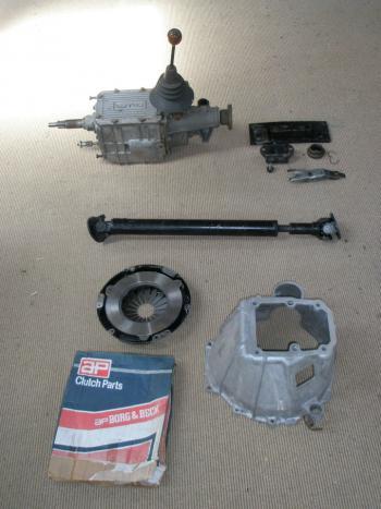 Lotus Elan 5 speed gearbox conversion kit