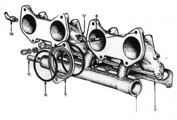 Lotus 907 inlet manifold