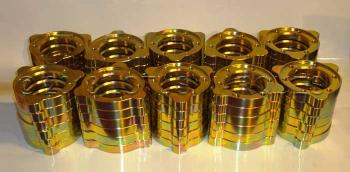 Fully CNC machined light weight adapter plates